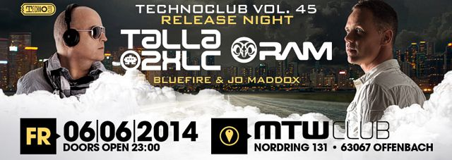 Technoclub Vol. 45 Release Party [Flyer]