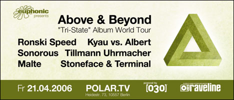 Above and Beyond @ Polar.TV Berlin