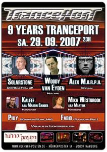 9 Jahre TrancePort @ Hühnerposten, Hamburg