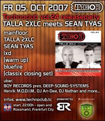 Technoclub Release Party @ U60311, Frankfurt