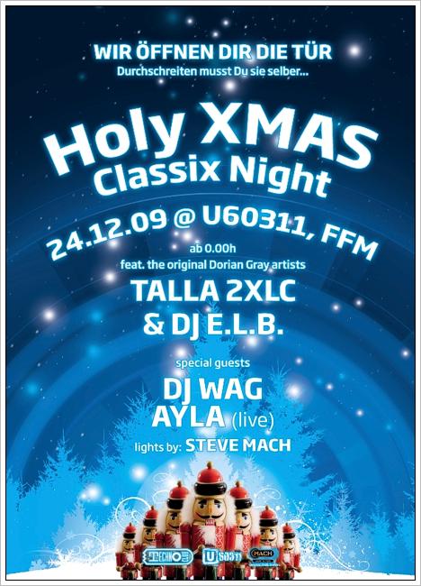 Technoclub Holy Xmas Classix Night @ U60311, Frankfurt