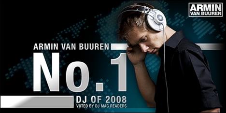 Armin van Buuren #1 DJ of the year 2008